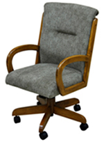 265 Caster Chair with Arms