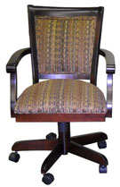 Mango Caster Chair with Arms