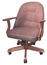 W-236 Caster Chair with Arms